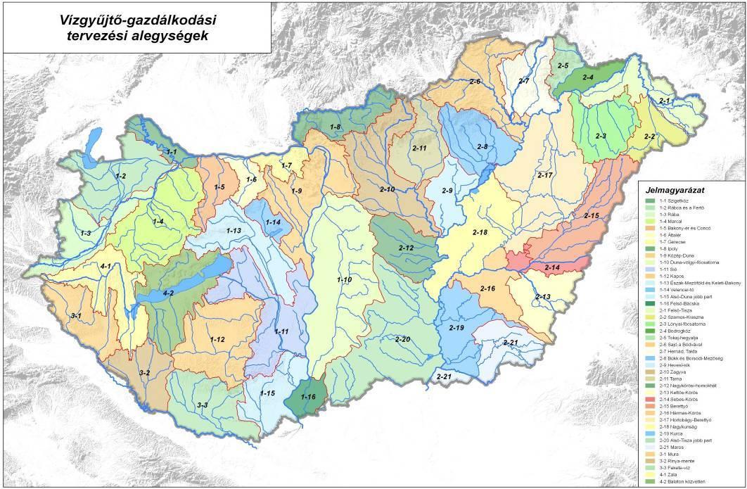 vízügyi térkép magyarország Tiszántúli Vízügyi Igazgatóság vízügyi térkép magyarország