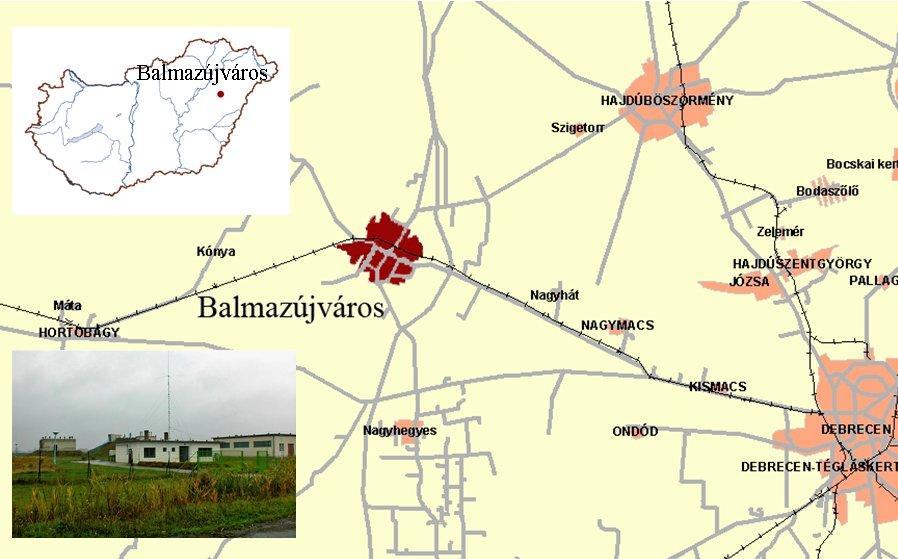 balmazújváros térkép Tiszántúli Vízügyi Igazgatóság balmazújváros térkép