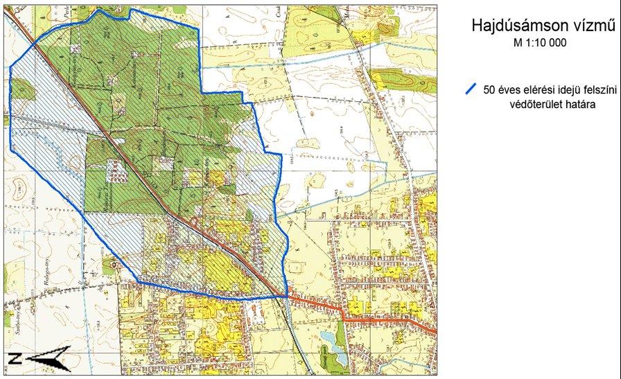 hajdúsámson térkép Tiszántúli Vízügyi Igazgatóság hajdúsámson térkép