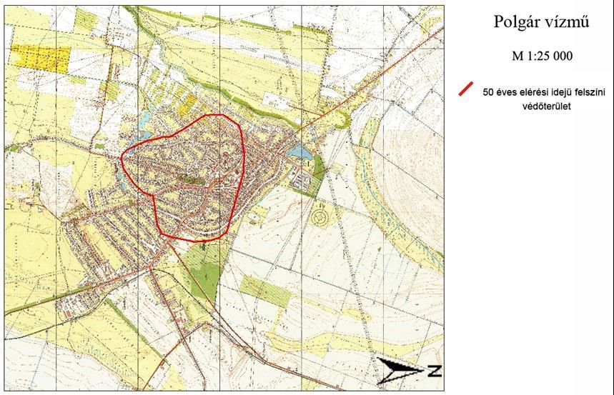 polgár térkép Tiszántúli Vízügyi Igazgatóság polgár térkép